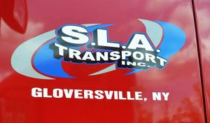 SLA Logo on Truck