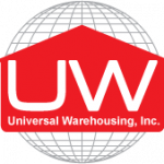 Universal warehousing logo